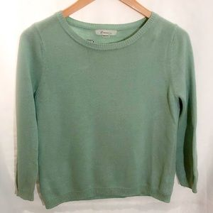 Forever 21 mint sweater